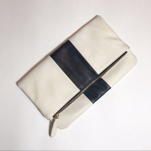 Forever 21 | Foldover Zippered Clutch
